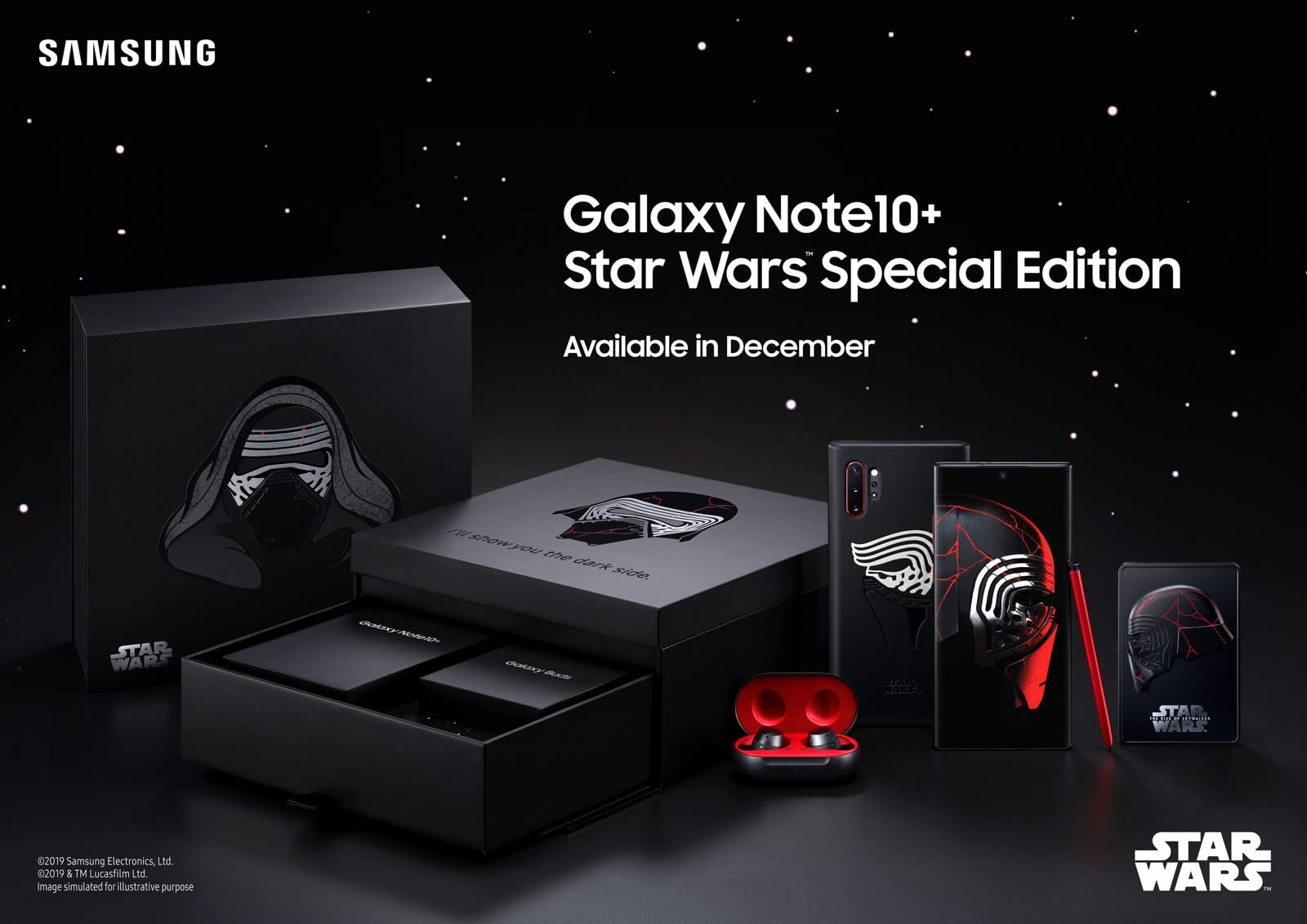 Samsung Galaxy Note 10+ 'Star Wars' Special Edition bundle