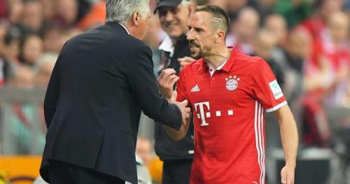 Foot - ALL - Franck Ribéry se montre très nerveux au Bayern Munich