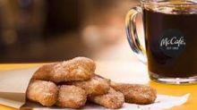 McDonald's adds donut sticks to menu to boost breakfast sales