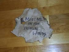 Viral blog takes girl to the broken lands