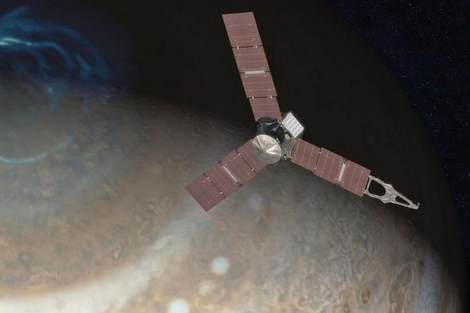 Juno's misbehaving engine means a change of plans around Jupiter