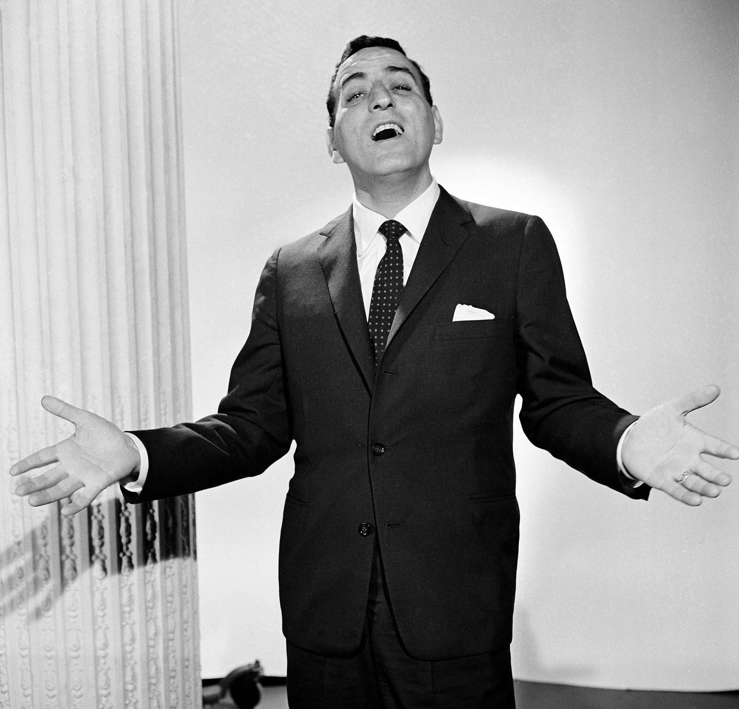 <p>Singer Tony Bennett on The Danish Shore Chevy Show, aired 5/31/59.</p>  <p>(Photo by: NBCU Photo Bank)</p>