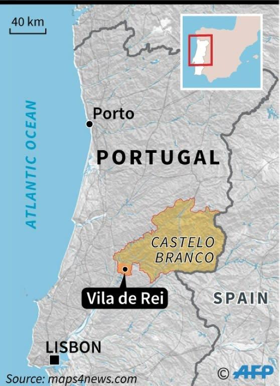 "The mayor of Vila de Rei in the Castelo Branco region said ""unfortunately terror returned once again"" (AFP Photo/Paz PIZARRO)"