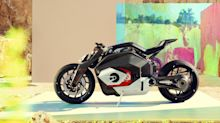BMW hints at the future of electric motorcycles with the Vision DC Roadster