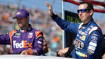 Hamlin, Busch throw shade at 2019 rules