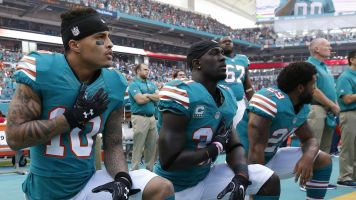 Dolphins could suspend kneeling players