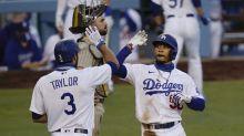 Betts iguala récord MLB con 3 jonrones, Dodgers ganan Padres