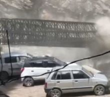 India landslide: Nine tourists killed as boulders fall from hilltop