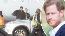 Prince Harry touches down in Canada after leaving the UK