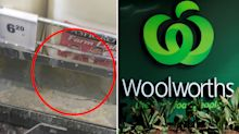Woolworths shopper furious over 'revolting' state of milk fridge