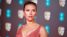 BAFTAs 2020: Scarlett Johansson wows in a blush pink gown with feather train