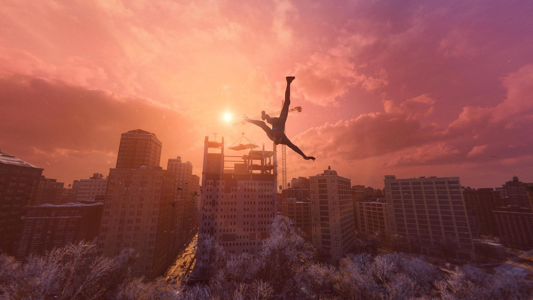 Marvel's Spider-Man: Miles Morales captured on PS5.