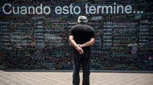 """Virus: sur le """"Mur de l'espoir"""" les Péruviens écrivent leurs envies d'après"""
