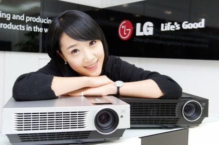 LG lets DX540B projector loose in Korea