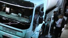 Nvidia, Volvo join forces on driverless trucks