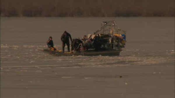 Search continues for kids who fell through ice in NJ