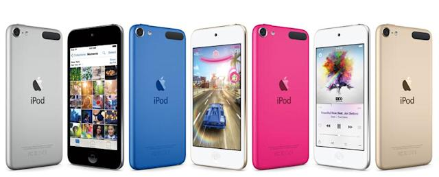Apple's iPod touch gets the same chip as the iPhone 6 (update: tests)