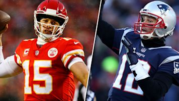 Will Brady, Mahomes both throw more than 300 yards on Sunday? Answer right to get closer to a piece of $3K