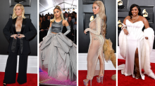 Low cut, thigh high, and plenty of skin: Most daring Grammys red carpet looks