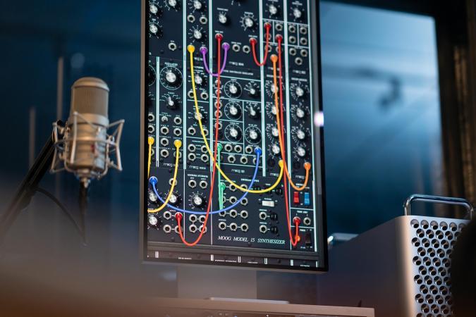 Moog Model 15 modular synthesizer app for Mac