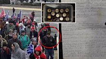 'Extremely disturbing' list and arsenal found on Capitol rioter