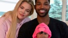 Tristan Shares Adorable Family Photos with Khloé and True on Halloween