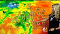 Tuesday's Forecast: Temperatures Continue To Climb, Another Toasty Day