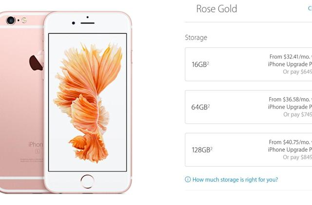 Apple's iPhone upgrade program now available online