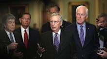 Mitch McConnell describes attorney questioning Kavanaugh and his accuser a 'female assistant'