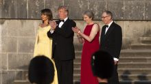 Trump brings his chaotic road show to Britain