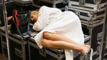 13 Models Sleeping in the Most Bizarre Sleeping Positions