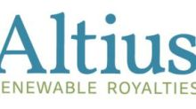Altius Renewable Royalties Announces Two New Royalties Created Under Tri Global Energy Royalty Financing Partnership