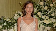 The nude lipstick behind Irina Shayk's timeless BAFTA after party look