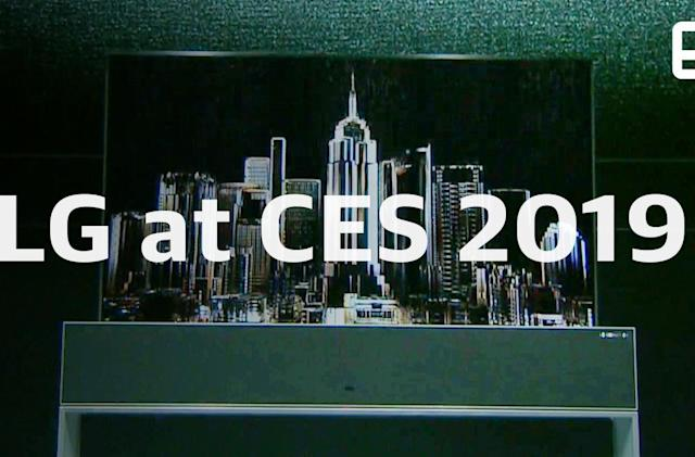 Watch LG's CES press conference in 8 minutes