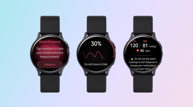 Samsung Galaxy Watch Active 2 Blood Pressure Monitoring