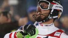 Snowball fight: Hirscher beats Kristoffersen in night slalom