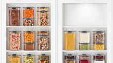 Rubbermaid® BRILLIANCE™ PANTRY transforms pantry organization