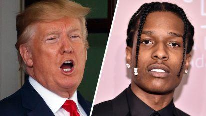 Trump: I'm seeking release of rapper jailed in Sweden