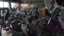 Gimnasio se transforma en taquería para sobrevivir a la pandemia en México