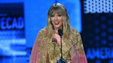 Taylor Swift Is The Toast Of The American Music Awards As She's Named Artist Of The Decade