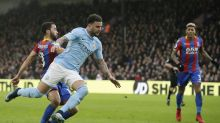 Manchester City's record winning streak ends with 0-0 upset at Crystal Palace