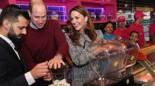 Kate Middleton whips up milkshakes in affordable Zara dress