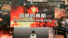 Hong Kong leader says Beijing will not back down on new security law