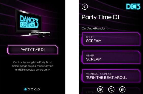 Hands-on with the first SmartGlass app, Dance Central 3's Party Time DJ