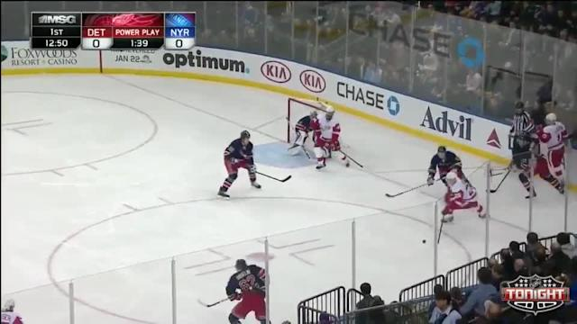 Detroit Red Wings at NY Rangers Rangers - 01/16/2014