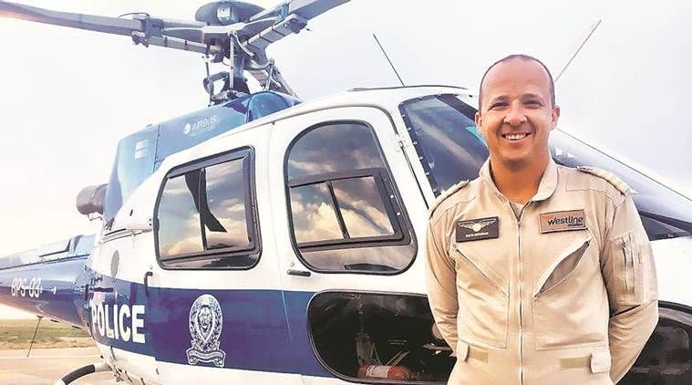 Dippenaar is a commercial helicopter pilot now.
