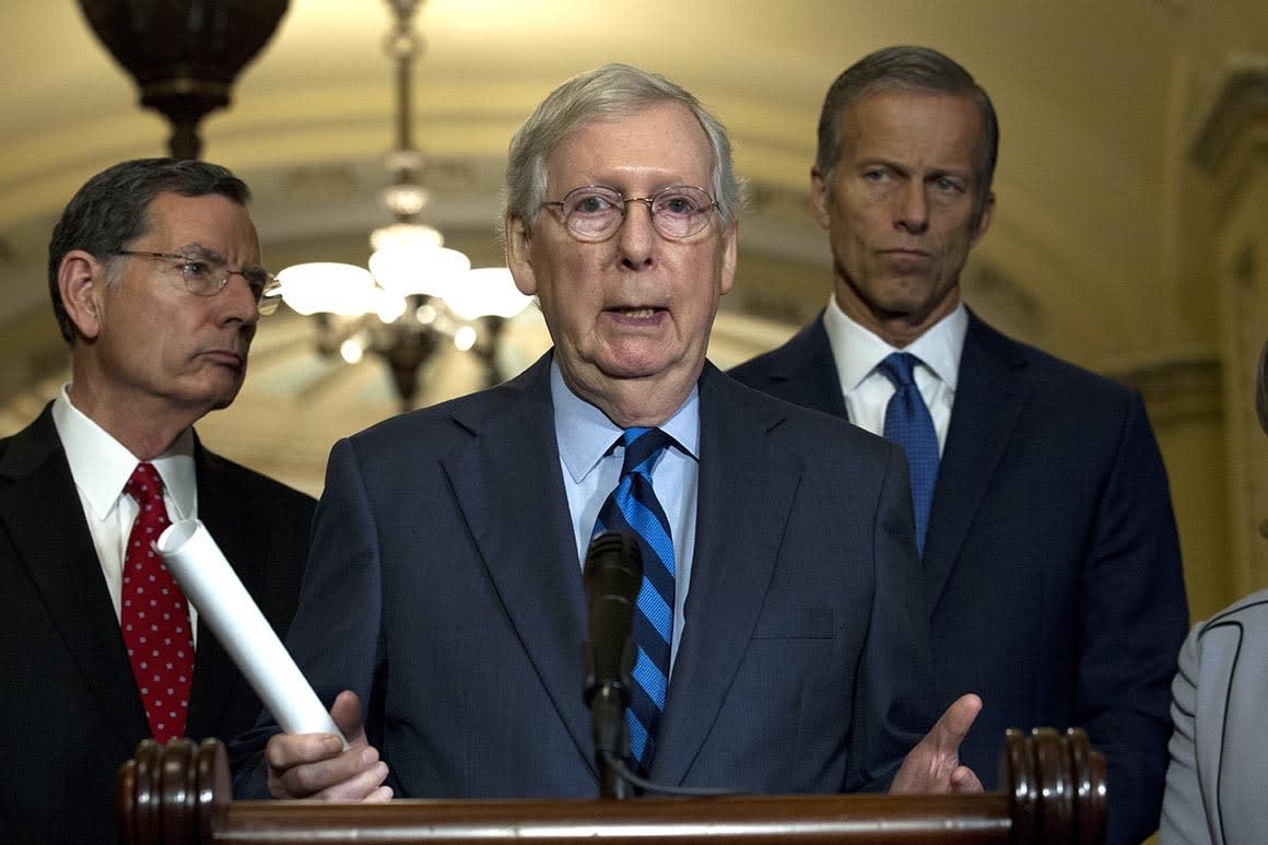 Senate Republicans reject effort to condemn Trump's Syria withdrawal