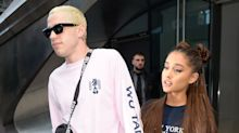Pete Davidson Went Off on a Fan Who Said Ariana Grande's Latest Tribute to His Father Was Too Much
