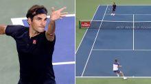 Ruthless Federer bamboozles rival in first match since Wimbledon