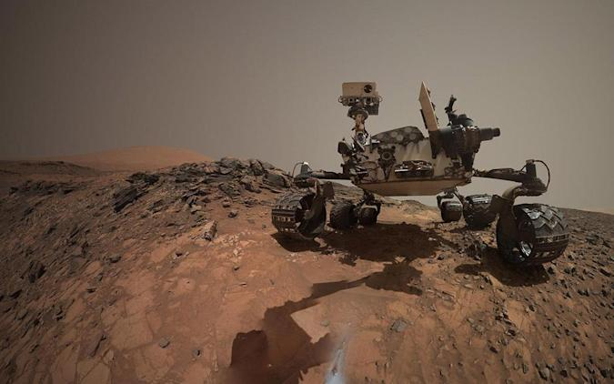 The Big Picture: Curiosity takes a 'belly selfie' on Mars